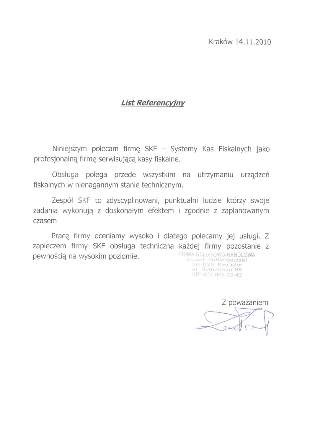 Firma Usługowo-Handlowa Paweł Zabierzowski